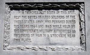 Salisbury -  Monument - 11,700 dead  - Resized for Blog
